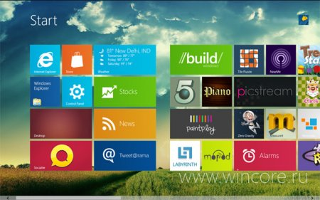 Metro theme with full BG — тема для стартового экрана Windows 8 Developer Preview