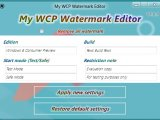 My WCP Watermark Editor � ������� �������� ����� �� ����� Windows 8 CP