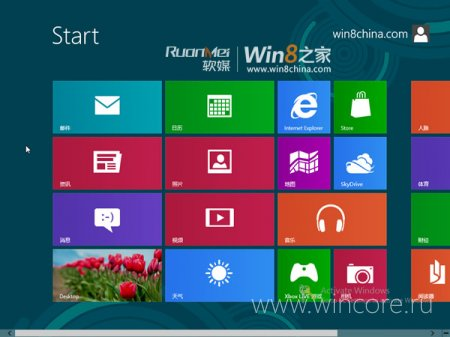 ������������ ������ ��������� Windows 8 Release Preview � ����� ����������