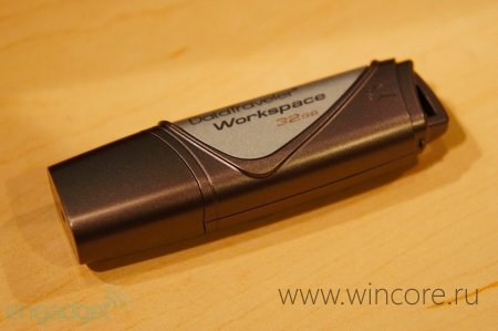 Kingston DataTraveler Workspace — USB-носитель специально для Windows To Go