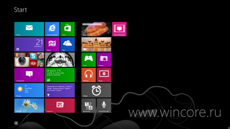 ����� ����������� � Windows 8.1