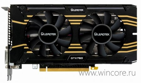 WinFast GeForce GTX 760 Hurricane � ������ ���������� ��� ������� �����������