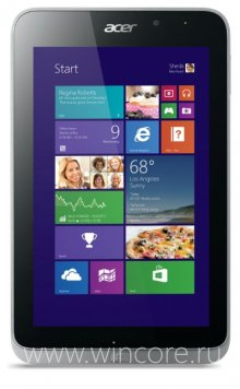 Acer Iconia W4 � ���������� ������� �� ���� Intel Atom � Windows 8.1