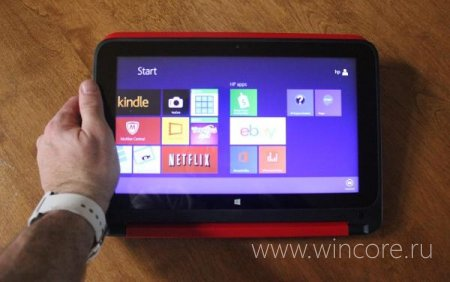 HP Pavilion x360 � ���������������� ������� � Windows 8.1