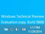 ������ Windows 10 Technical Preview ��� ������� 9888 ������ � ����
