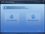 AOMEI OneKey Recovery � ������ ������ ��� �������������� �������