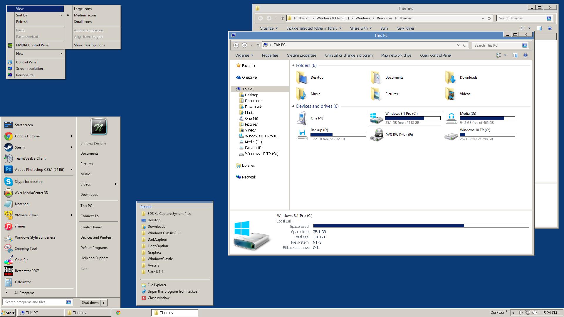 Как сделать персонализацию для windows 7 876