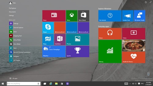 ��� ������� ISO-����� ������������� ����� Windows 10 Technical Preview 10041?