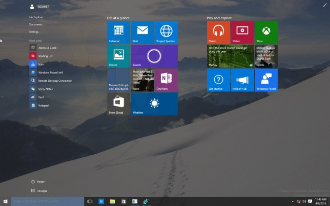 Образ Windows 10 Technical Preview 10056 попал в сеть