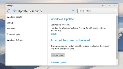 ��� Windows 10 Insider Preview 10074 ������������ ������ ����������