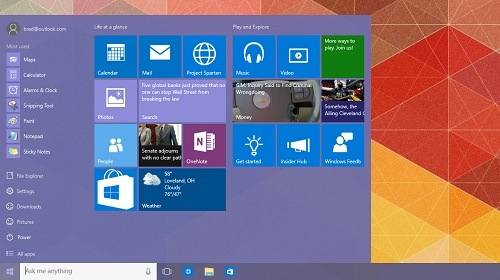 Windows 10 Insider Preview 10125 ������ � ����