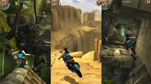 Lara Croft: Relic Run � ��������������� ������ � ��������������� �������