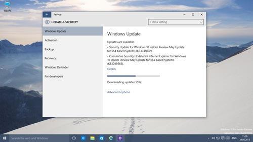 Windows 10 Insider Preview 10122 � 10074 �������� ���������� ������������