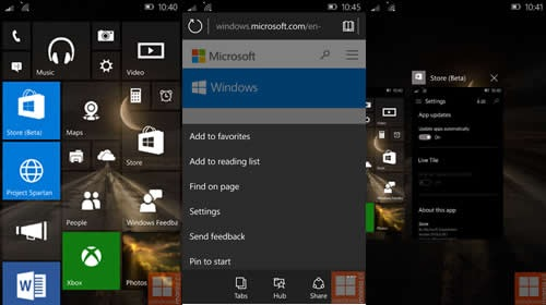�����: Windows 10 Mobile Insider Preview 10034 ������ � �������� ����������