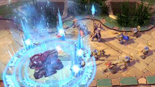 Blizzard запустила игру Heroes of the Storm