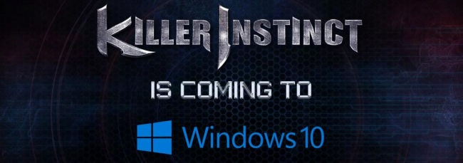 Killer Instinct и Gears of War: Ultimate Edition будут выпущены для Windows 10
