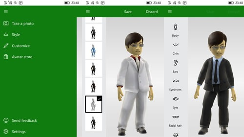 Приложение Xbox Avatars выпущено для Windows 10 Mobile