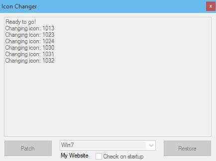 скачать стандартные иконки папок windows 7