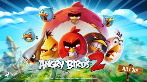 ������������ ���� Angry Birds 2