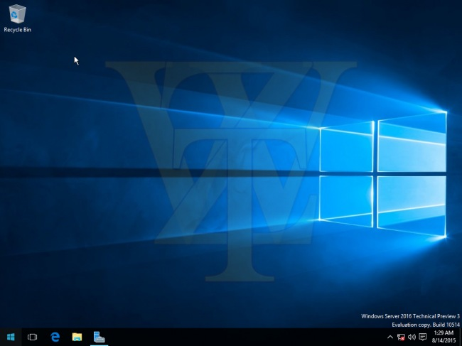 В сеть утекла Windows Server 2016 Technical Preview 3 build 10514