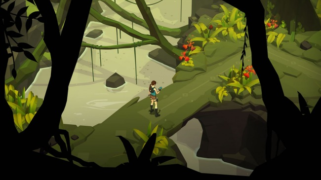 ��������� ����������� Lara Croft GO ������������ ��� Windows