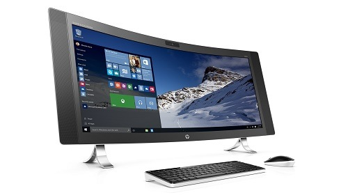 HP ENVY Curved All-in-One — моноблок с изогнутым дисплеем и 3D-камерой