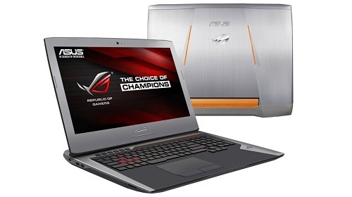 ASUS ROG G752VY � ������ ������� ������� � Windows 10