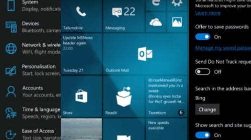 Windows 10 Mobile Insider Preview 10581 ���������� �����������