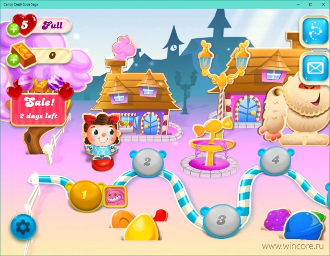 Candy Crush Soda Saga �������� ��� Windows 10