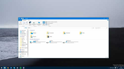 ������ ������������ � ������������ ��������� Windows 10 Insider Preview 10565