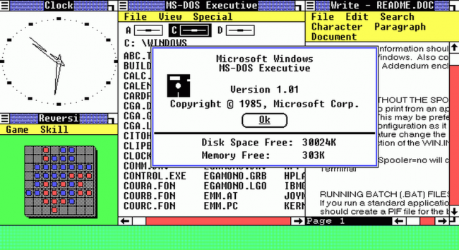 Windows исполнилось 30 лет