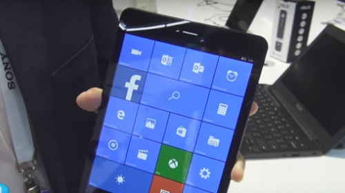 Pipo U8T � ������ ������� � Windows 10 Mobile � ����������� �� Rockchip