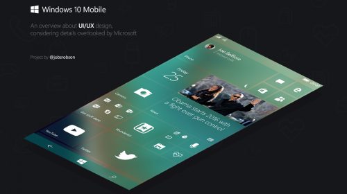 ������� Windows 10 Mobile: ������ � ��������