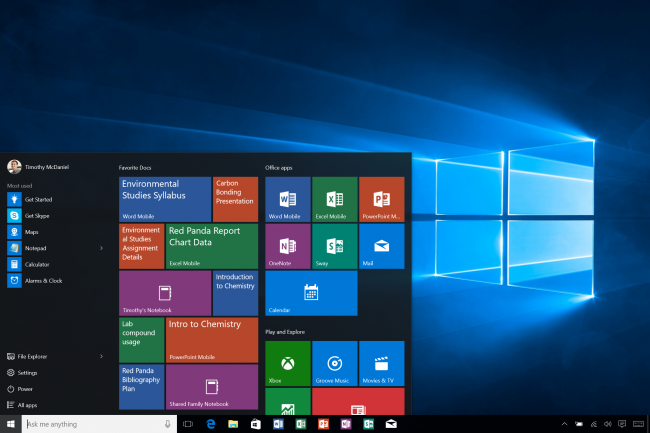 ���������� Office Mobile ��� Windows 10 �������� ����� �������