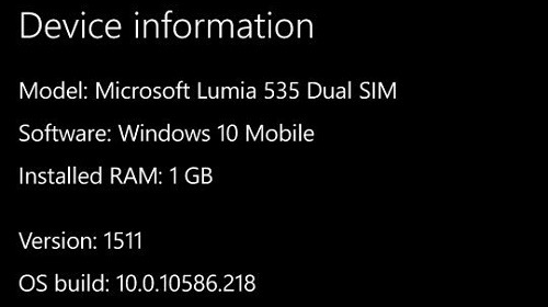 �� �������� Windows Update �������� ����� ������ Windows 10 Mobile