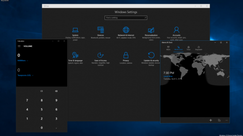 ������������ Windows 10 Insider Preview � ������� ������ 14316