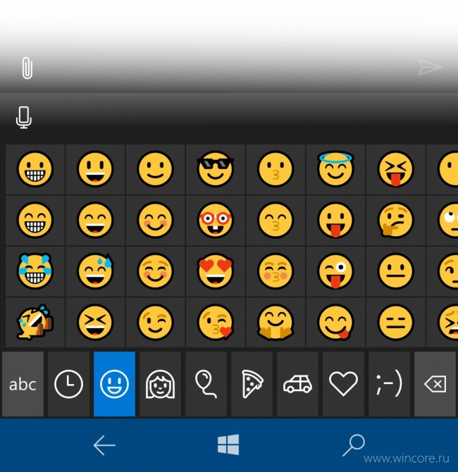 ���������� �������� ����� �������� Windows 10 Mobile Insider Preview � ������� ������ 14322