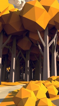 Low Poly � ��������� ���� � ������������� �����
