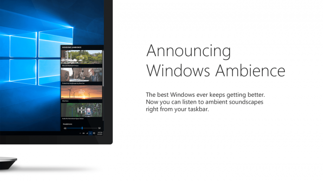 �������: Windows Ambience � �������� ��������� ��� ������� ��������������