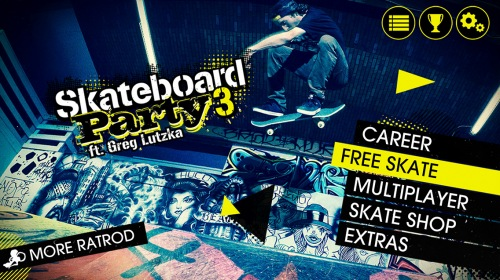 Skateboard Party 3 ft. Greg Lutzka � ��������� ���������� ��� ��������� � ����������