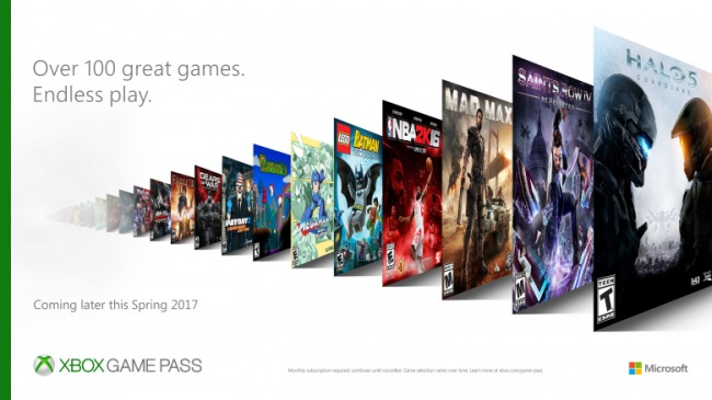 Xbox Game Pass — более сотни игр по доступной подписке