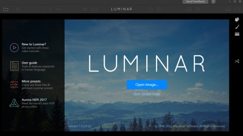 Выпущена бета-версия приложения Luminar для Windows