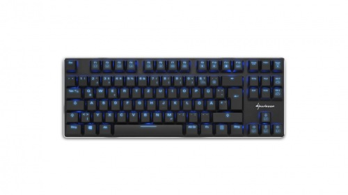 Sharkoon PureWriter TKL — компактная клавиатура с «механикой»
