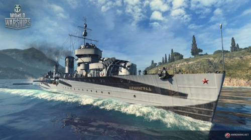 World of Warships опубликована в Microsoft Store