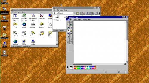 windows95 — операционная система в приложении