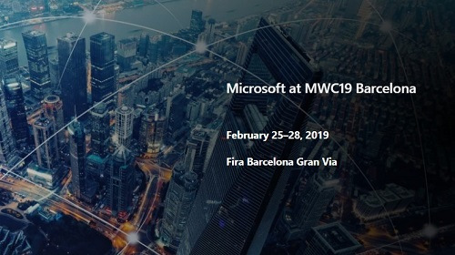 Microsoft примет участие в Mobile World Congress 2019