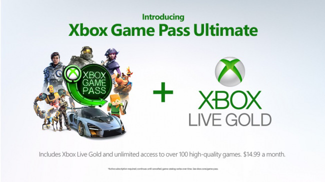Microsoft представила Xbox Game Pass Ultimate и Xbox One S All-Digital Edition