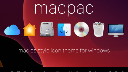 macpac — иконки из macOS для Windows 10